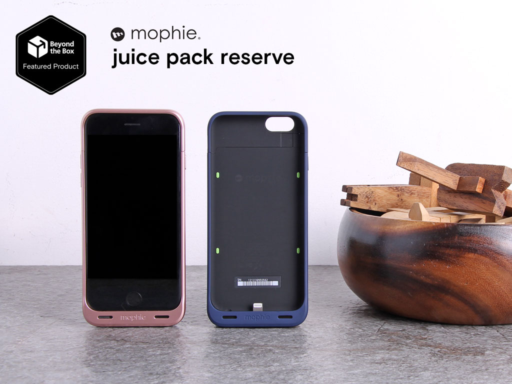 Mophie Juice Pack Reserve by Beyond the Box