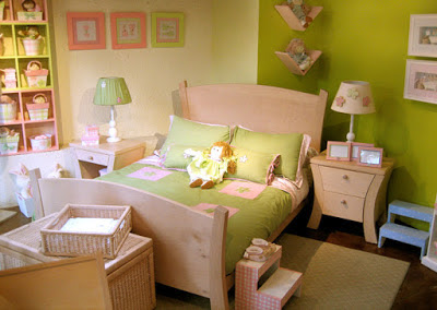 The latest way to decorate children's bedroom
