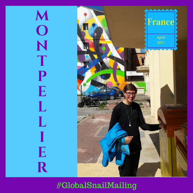 Global Snail Mailing Montpellier #GlobalSnailMailing