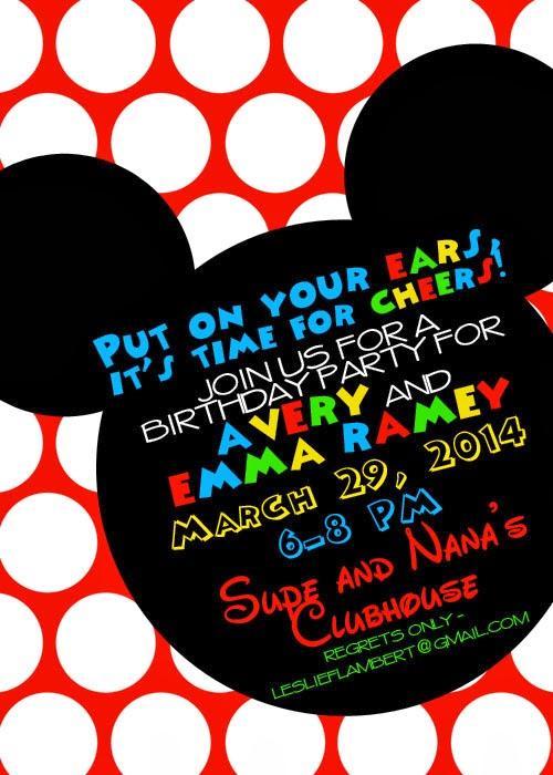 Disney Surprise Letter Template