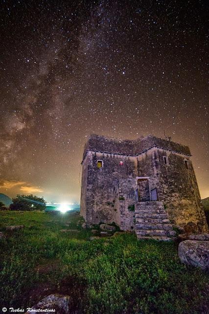 Ο Πύργος του Ραγίου και ο Γαλαξίας...