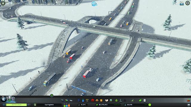 Cities: Skylines | Winter screenshot