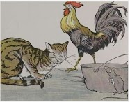 Dongeng Kucing, Ayam Jantan dan Tikus Muda (Aesop) | DONGENG ANAK DUNIA