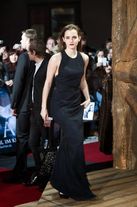 8f46eb080a38e Emma Watson Goes Glam at the Movie Premiere of Noah in Berlin, Germany