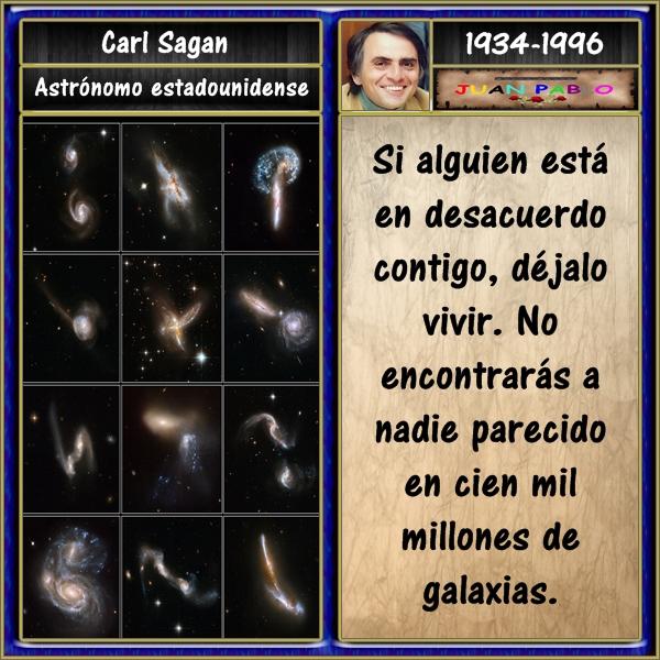 Frases Ilustradas Y Autor Frases Ilustradas Carl Sagan