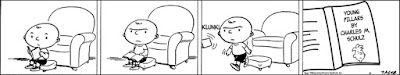 Apparently Schulz and Keane were two of a kind in terms of stupidity. I still find Peanuts to be a lot less offensive to my rational brain. Family Circus indeed is the worst shit I have ever come across.