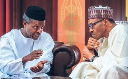 osinbajo and Buhari London Discussion