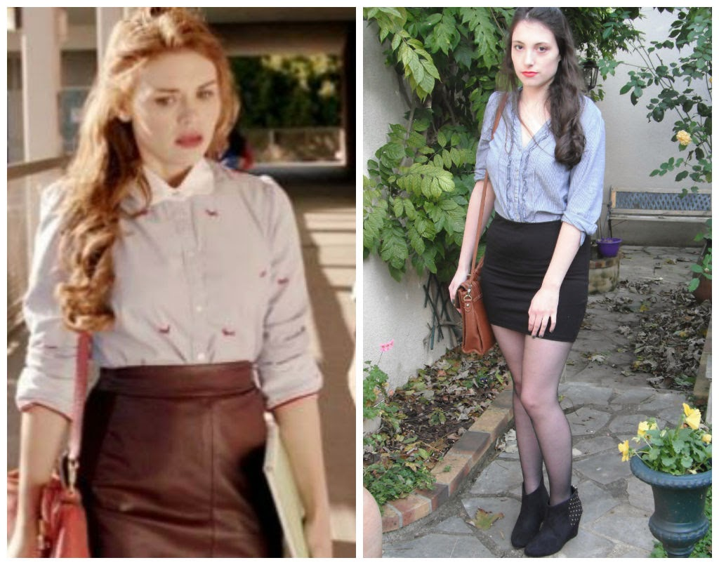 inspiration look tenue holland roden lydia martin teen wolf episode 4 saison 3