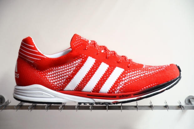 new style 49af9 b3ddb Just one day before the start of the 2012 Olympic Games, adidas revealed  its revolutionary new running shoe the adizero Primeknit.