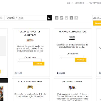 Loja Virtual Pagstore (venda com o Blogspot)