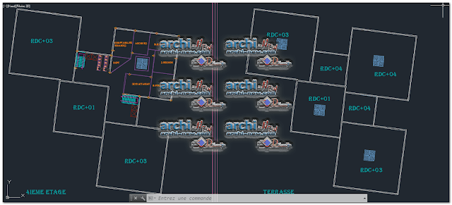 commercial-complex-mall-dwg
