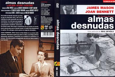Almas desnudas | 1949 | The Reckless Moment | Dvd Cover