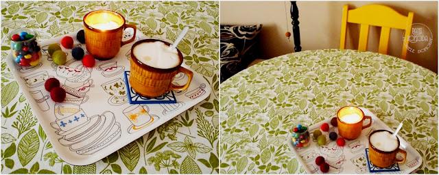 kawa świeczka relaks