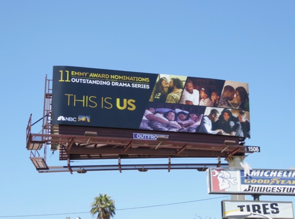 This Is Us 2017 Emmy noms billboard