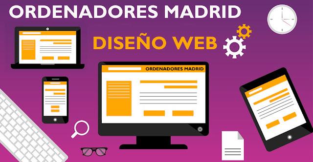 diseño web ordenadores madrid