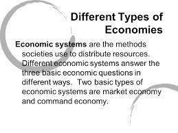 Perbedaan Sistem Ekonomi