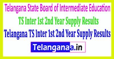 TS Inter 1st 2nd Year Supply Results