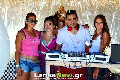 Κυριακάτικο Δροσιστικό πάρτυ στο Beach Bar Χαλαρά (photos)