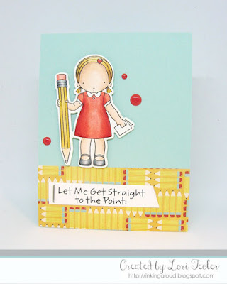 Straight to the Point card-designed by Lori Tecler/Inking Aloud-stamps and dies from My Favorite Things