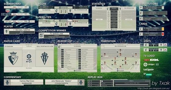 سكوربورد الدوري الاسباني كامل محدث 2018 لبيس 2018