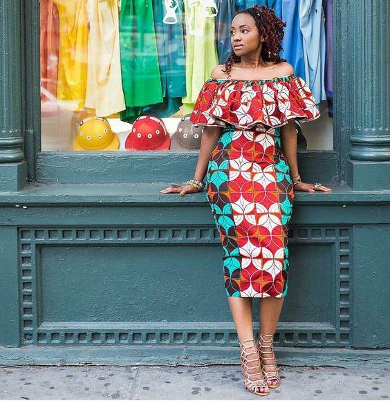 kitenge fashion for Africa