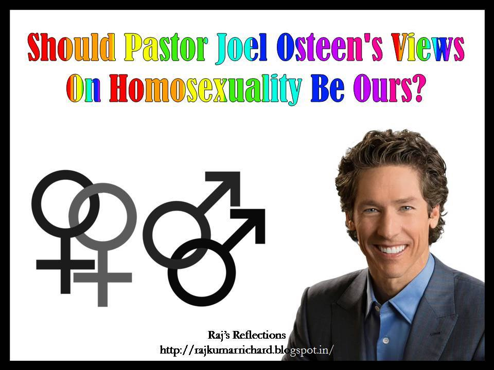 Sermons on homosexuality is wrong