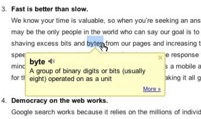 Ekstensi Google Chrome tuk Pelajar - Dictionary