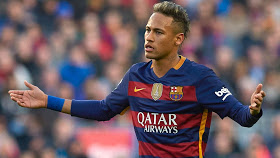 "Neymar was involved in a training ground bust-up with Barcelona assistant coach, Juan Carlos Unzue, before their 4-1 win over Villarreal last weekend.   According to Mundo Deportivo, the Brazilian forward was told to ""focus on football"" during a heated argument.  Unzue apparently made a few tactical points that Neymar didn't agree with, which led to another member of the coaching staff intervening.  The argument apparently culminated with Unzué shouting at him: ""If you continue this way, you'll end up just like Ronaldinho!""  The row did not put Neymar off, as he turned in an impressive display and scored against Villarreal, as Luis Enrique's men retained their place at the top of La Liga.  Neymar has scored 16 goals and provided 24 assists in all competitions."