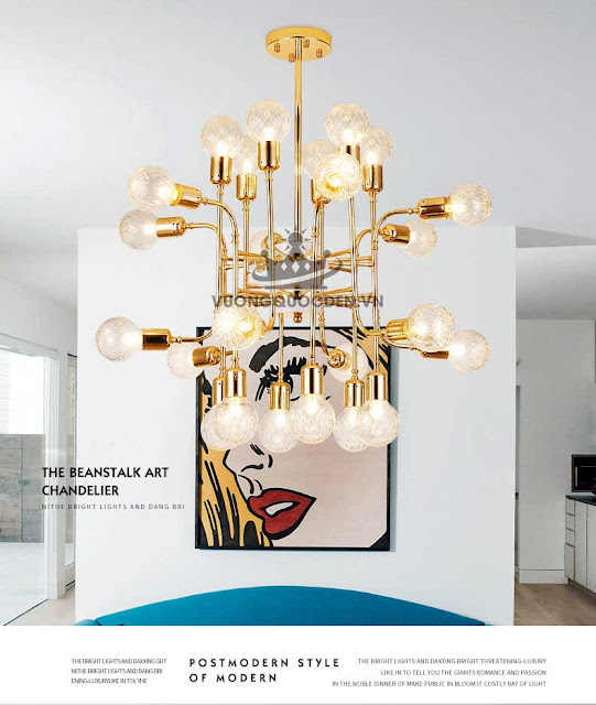 Bật mí lý do lựa chọn đèn thả trần cho nhà thêm xinh