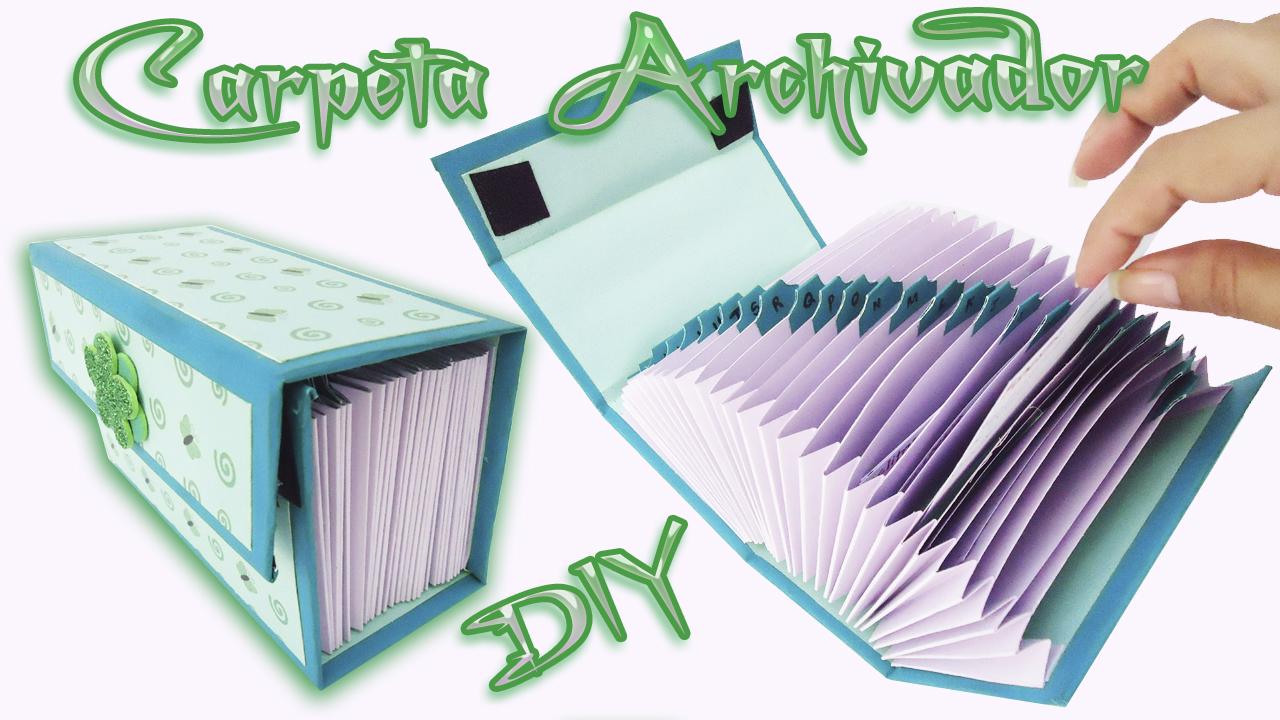Organizador De Baño En Tela Paso A Paso:Carpeta organizadora scrapbook Diy – Craft