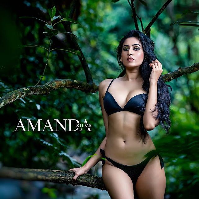Amanda Silva Hot Bikini Photoshoot  Sri Lanka Hot Picture -7566