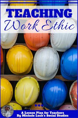Do you want your students to learn content? Standards? How about work ethic? This post will give you great ideas for teaching work ethic in your middle or high school classroom! #teaching #iteach678 #iteachhs