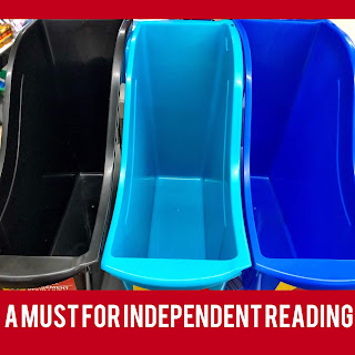 Do you use book bins to organize your readers? Check out this post for ways to build a love of reading in your classroom.
