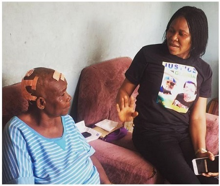 79-year-old Husband Badly Batters His 68-year-old Wife in Lagos (Photos)