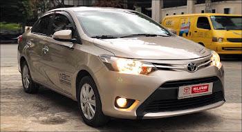Toyota Vios 1.5E MT 2017 màu Nâu Vàng qua sử dụng
