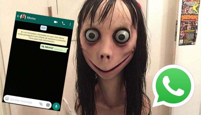'Momo', o misterioso número de WhatsApp que está aterrorizando a internet
