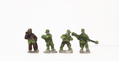 Garibaldini artillery crew