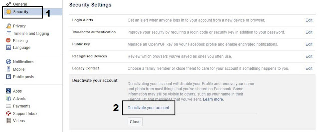 Facebook Account Ko Permanently Delete Ya Deactivate Kaise Kare