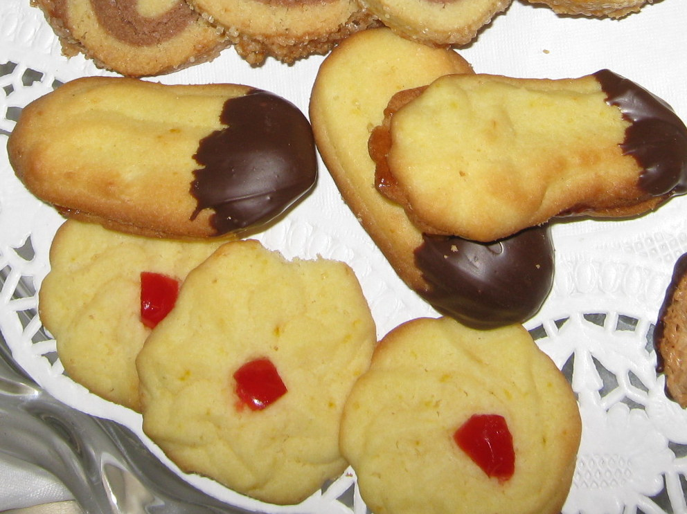 Weihnachtsplätzchen Eigelbverwertung.Bärentatzen In Der Weihnachtsbäckerei
