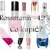 ROSSMANN -49% NA KOSMETYKI DO MAKIJAŻU | CO WARTO KUPIĆ?