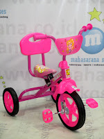 PMB 919S-P Safari BMX Tricycle with Back Seat