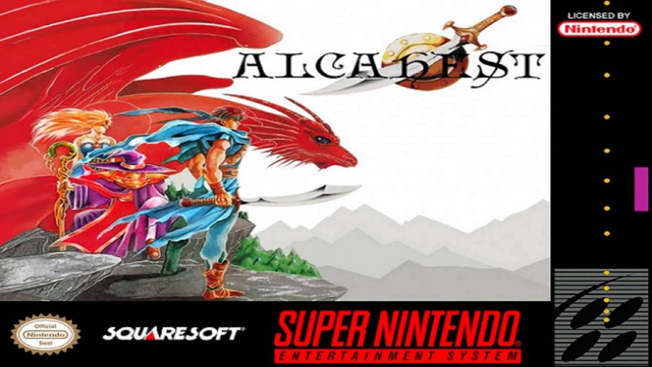 ROMs - Alcahest (Português) - SNES Download