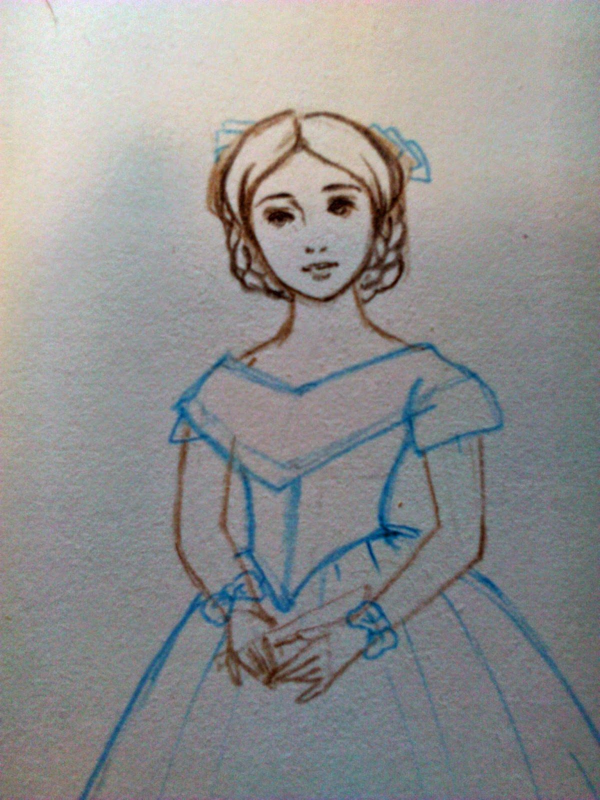 Disegni Disney Colorati Coi Pastelli Migliori Pagine Da Colorare