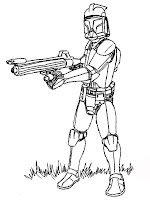 printable star wars kids coloring sheet