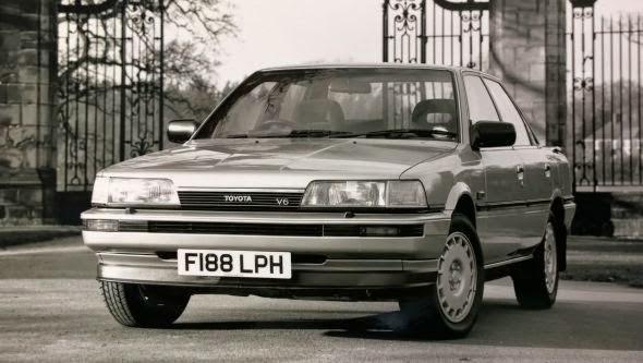 1989 Camry V6 GXi -  - Lịch sử các dòng xe Toyota Camry : Đột phá qua từng thế hệ