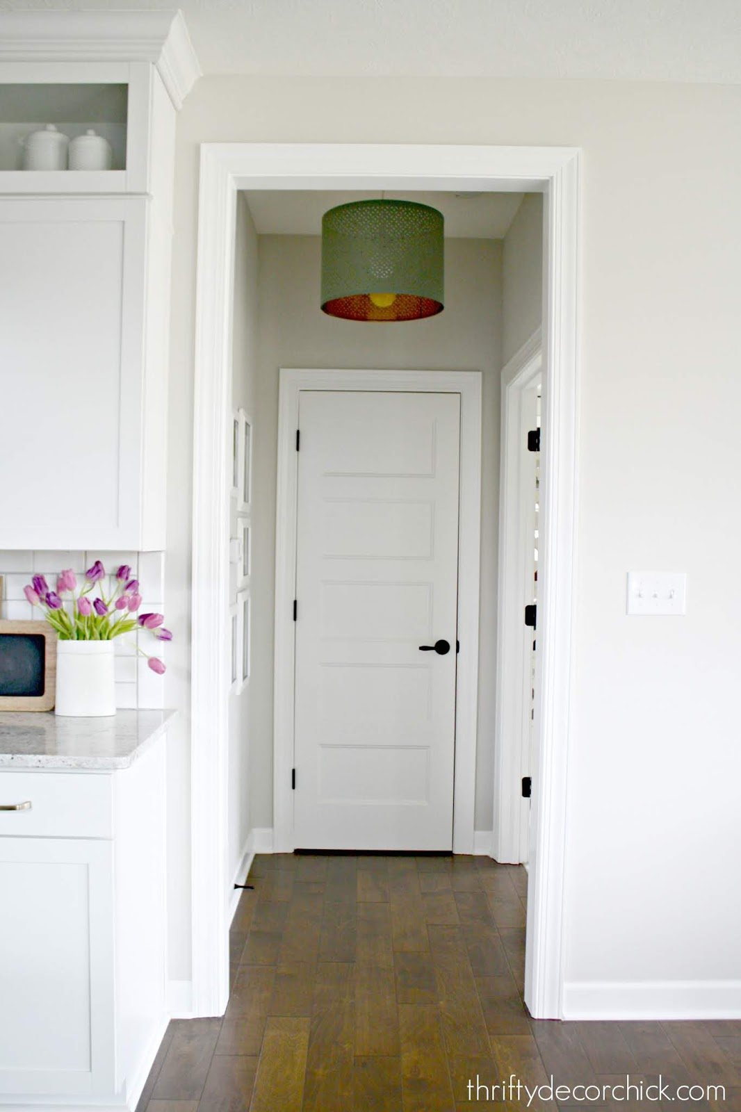 How to change out recessed light for hanging light
