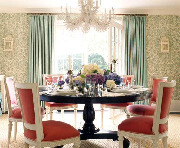 modern chic dining room | TREND