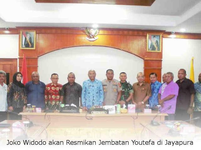 Joko Widodo akan Resmikan Jembatan Youtefa di Jayapura