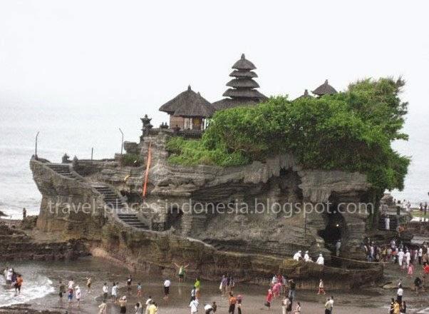 Tanah Lot Tempat Wisata Bali Objek Wisata