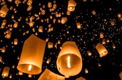 Cara Membuat Lampion Dari Kertas Minyak